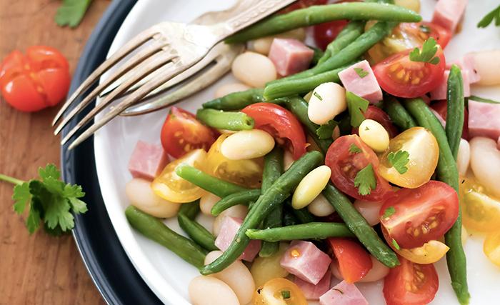 Une salade à la mogette