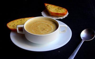 Les mogettes en soupe et velouté d'hiver