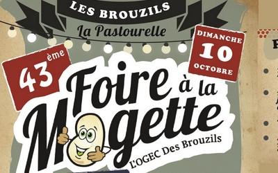 La Foire à la Mogette des Brouzils, le dimanche 10 octobre 2021